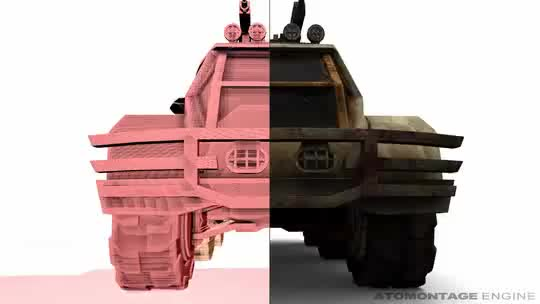 Watch and share Voxelized Low-Poly APC Model - Voxel LODs GIFs by brano on Gfycat