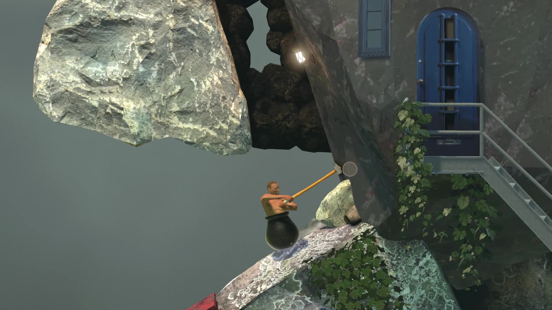 Getting over it GIFs