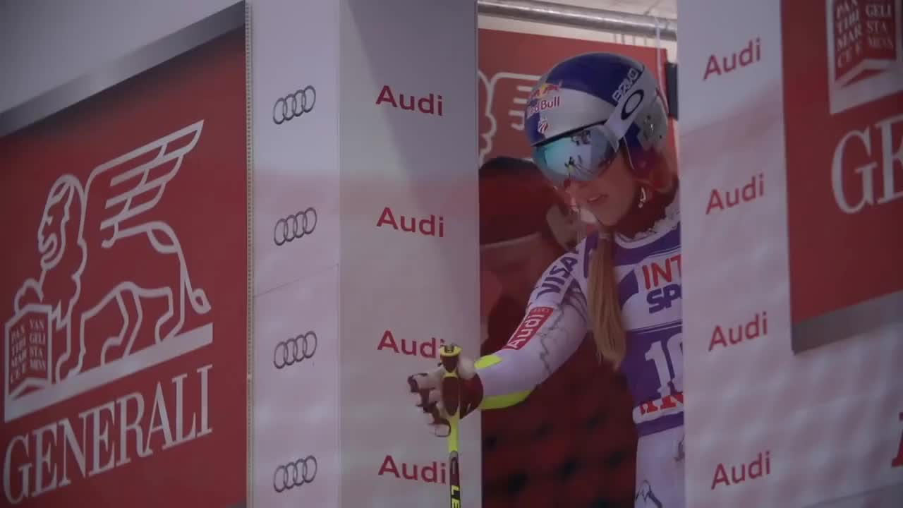 Lindsey, lindsey, lindsey vonn, ski, vonn, Mental Preparation - Behind the Scenes - FIS Alpine GIFs