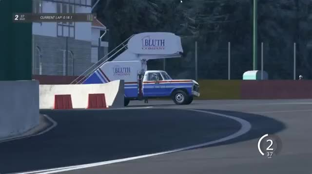 Watch and share Ripsave - Taking A Stair Truck Up Eau Rouge Raidillon Is A Thing Of Beauty... GIFs by imadkhan on Gfycat