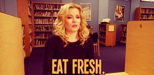 gillian jacobs, eat fresh GIFs