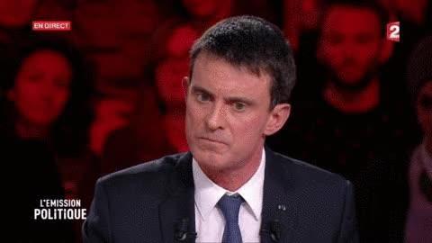 Watch and share EN IMAGES. Primaire De La Gauche : La Soirée De Défaite De Manuel Valls En Gifs GIFs on Gfycat
