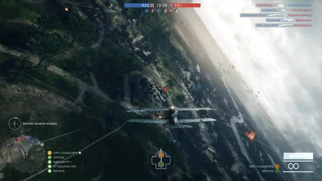 Watch and share Battlefield 1 GIFs and Attack Plane GIFs on Gfycat