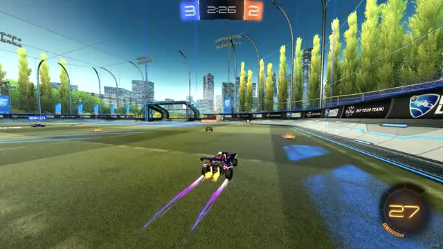 Watch 1s main dribble crossover into fake and snipe GIF by Meeno (@meeno_rl) on Gfycat. Discover more RocketLeague GIFs on Gfycat