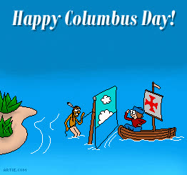 Happy Columbus Day GIFs