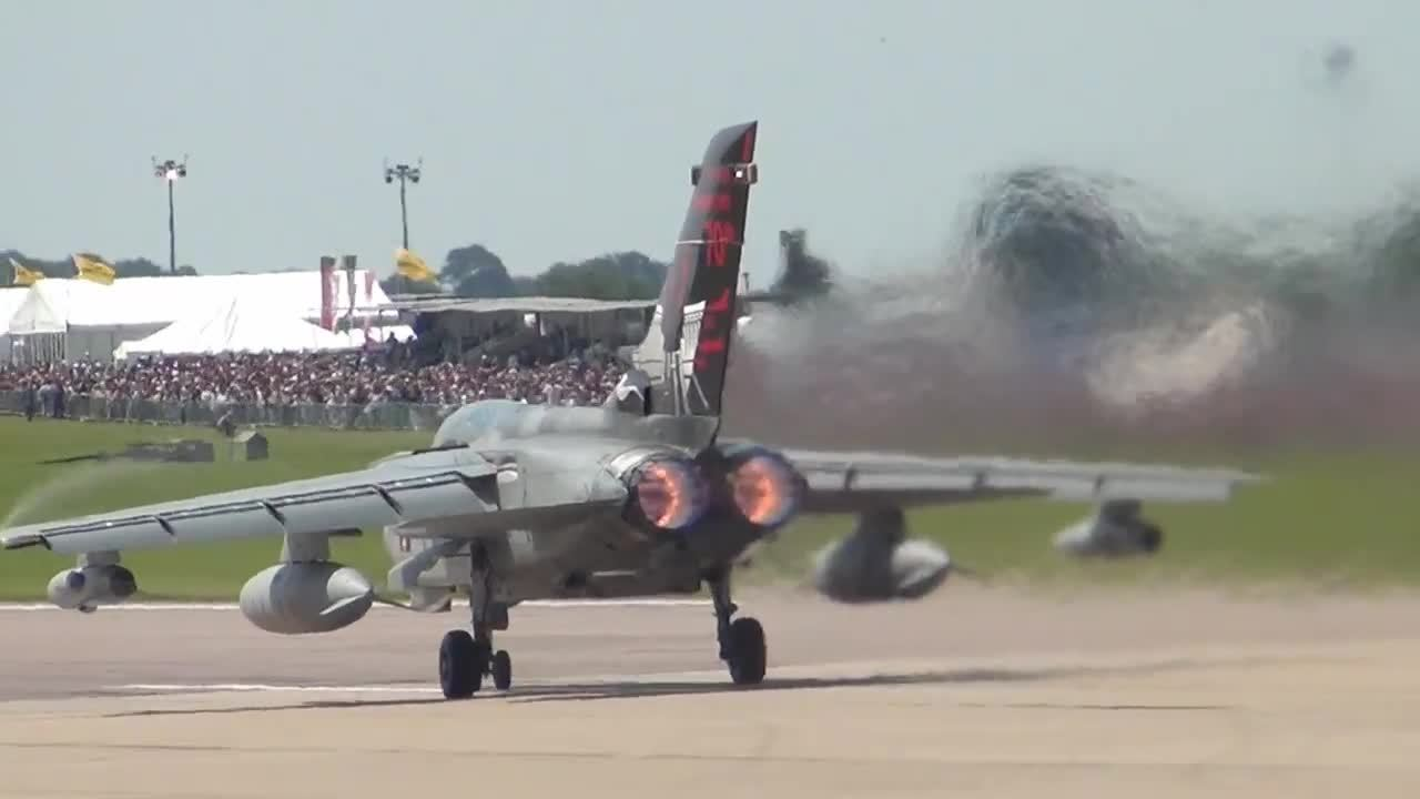 WarplaneGfys, warplanegfys, Super Jelly Air Tornado GR4 Take-off. (reddit) GIFs