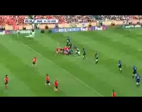 Watch and share Leinster VS Munster Brian O Driscoll Intercept Try GIFs on Gfycat