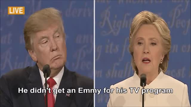 Watch and share Hillary Clinton GIFs and Donald Trump GIFs on Gfycat