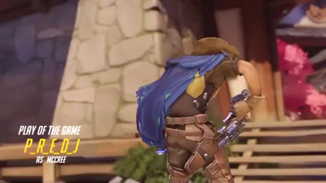 Overwatch mccree play of the game video