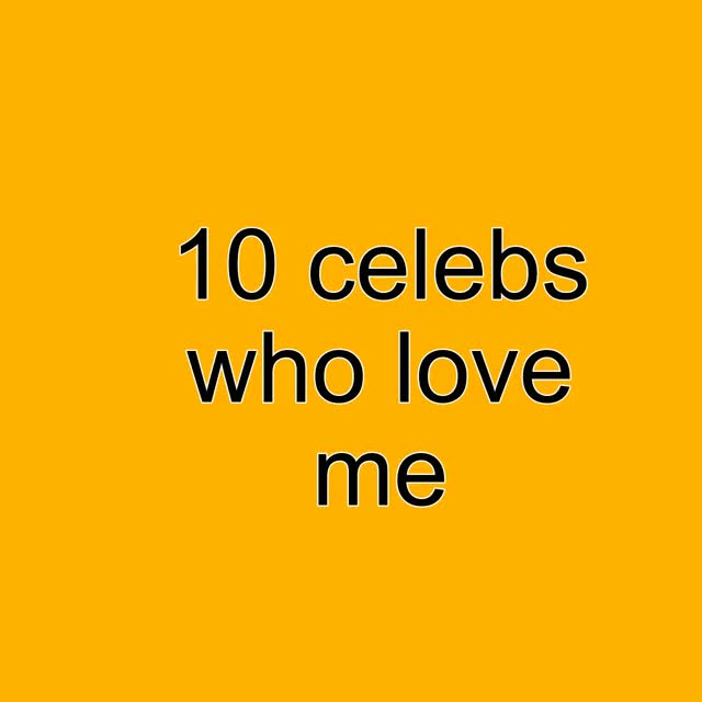 Watch and share 10 Celebs Who Love Me GIFs by bringintheclan on Gfycat
