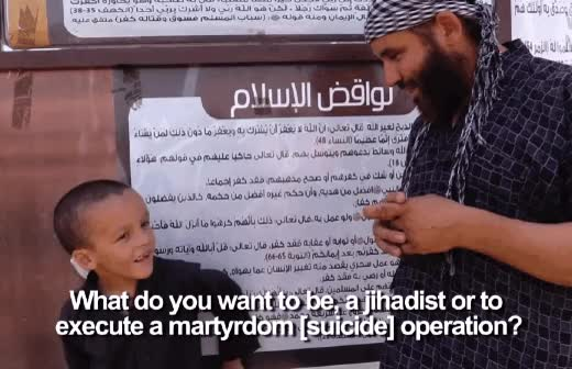 Shocking Video: ISIS Grooming Children For Jihad, The Fall Of The