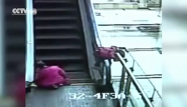 Watch Safety concerns rise as child dies in escalator accident GIF on Gfycat. Discover more related GIFs on Gfycat