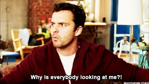 Watch and share Nick Miller Nick Miller GIFs on Gfycat