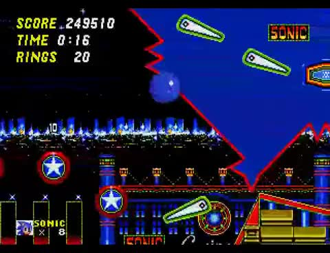 Watch and share Sonic The Hedgehog 2 - Casino Night Zone GIFs on Gfycat