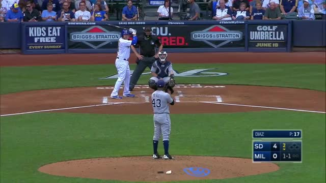 Watch Shaw's solo homer to center GIF by @patrickbrewer93 on Gfycat. Discover more milwaukee brewers, mlb, travis shaw GIFs on Gfycat