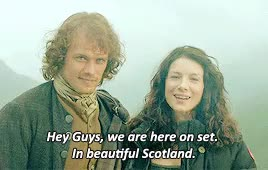 Watch and share Caitriona Balfe GIFs and Jamie X Claire GIFs on Gfycat