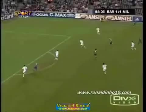 Watch and share Ronaldinho GIFs on Gfycat
