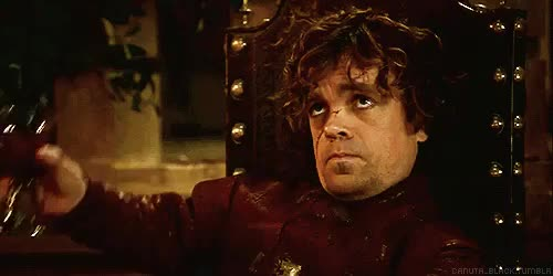 Watch and share Tyrion Lannister GIFs and Cheers GIFs on Gfycat
