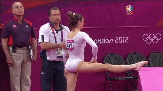 McKayla Maroney getting massaged. (i..com) GIFs