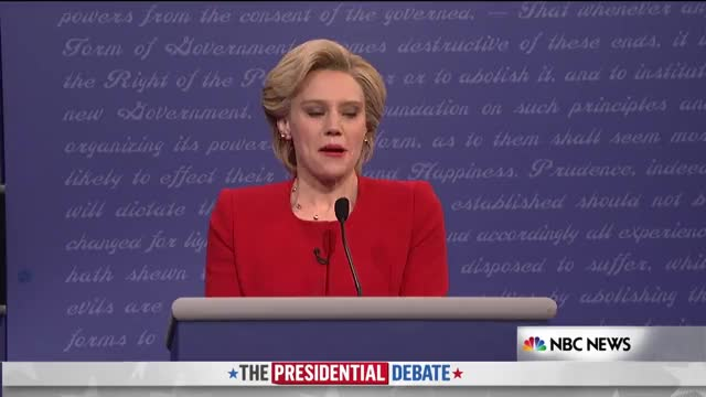 Watch and share Hillary Clinton GIFs and Kate Mckinnon GIFs by Dave on Gfycat