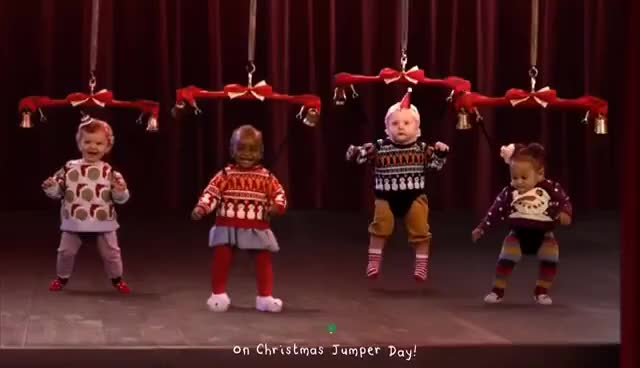 Watch Ella's Christmas Jumpers | Ella's Kitchen | Save the Children Christmas Jumper Day GIF on Gfycat. Discover more related GIFs on Gfycat