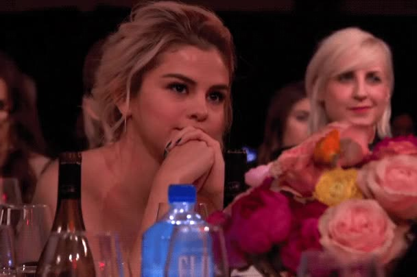 Watch this blush GIF by The GIF Smith (@sannahparker) on Gfycat. Discover more billboard, blush, humble, modest, selena gomez, smile, woman of the year GIFs on Gfycat