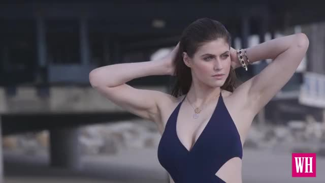 Watch and share Women's Health: Behind-the-Scenes At Our Cover Shoot With Alexandra Daddario GIFs on Gfycat
