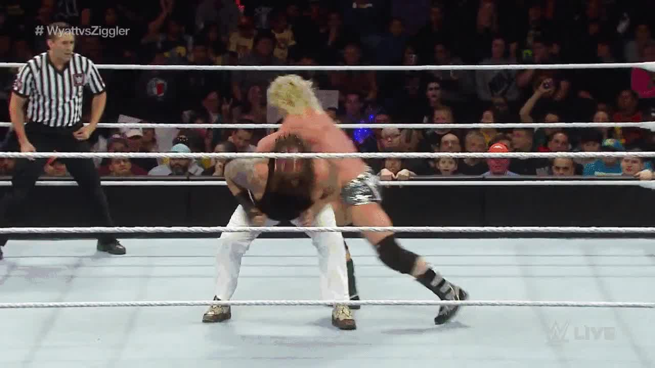 Clothesline : SquaredCircle GIFs