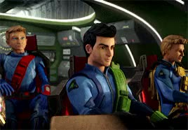 Watch and share Thunderbirds Are Go GIFs and Don't Tell Scott GIFs on Gfycat