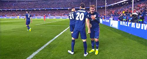 Watch Griezmann  | gif, celebration and antoine griezmann GIF on Gfycat. Discover more related GIFs on Gfycat