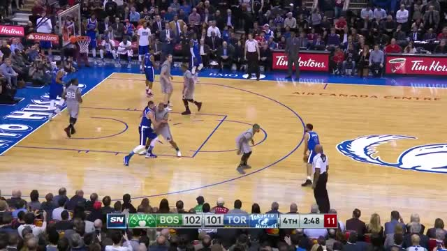 Watch and share Kyle Lowry 4 Point Play GIFs by dirk41 on Gfycat