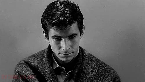 Watch alfred GIF on Gfycat. Discover more Alfred Hitchcock, Anthony Perkins, Black and White, Blanco y Negro, Classic, Film, Gif, Gifmovie, Horror, Horror Movie, Horroredit, Movie, Movie Horror, Moviegif, Norman Bates, Película, Psicosis, Psycho, Terror GIFs on Gfycat