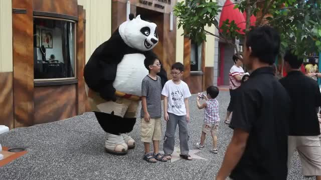 Watch Po - The kungfu panda Universal Studio Singapore GIF by Syahrin Abdul Aziz (@nirhays) on Gfycat. Discover more kungfu, po, the GIFs on Gfycat
