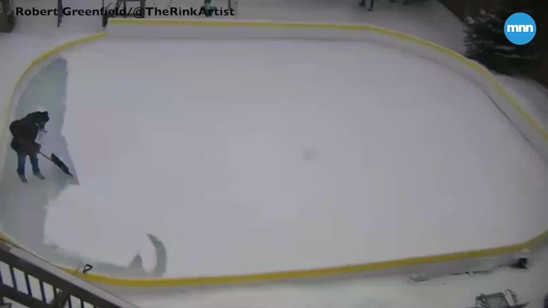 art, mona lisa, snow, ice, snow, Mona Lisa created with a shovel GIFs