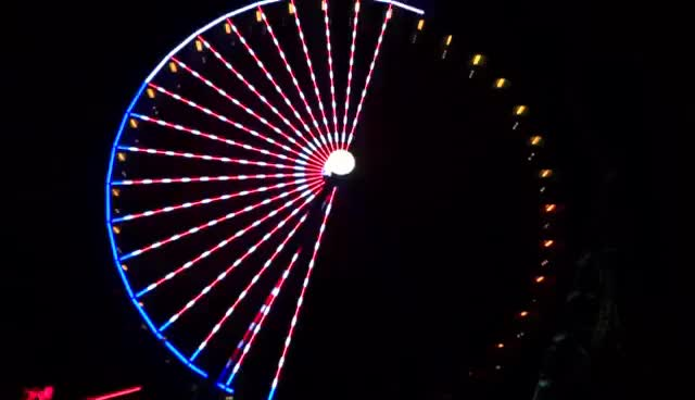 Watch and share Ferris Wheel GIFs and Light GIFs on Gfycat