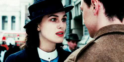 Watch this trending GIF on Gfycat. Discover more edits, edits: deah, keira knightley, keiraedit, kknightleyedit, movie: atonement, perioddramaedit, timeline: 2007, type: gifs GIFs on Gfycat