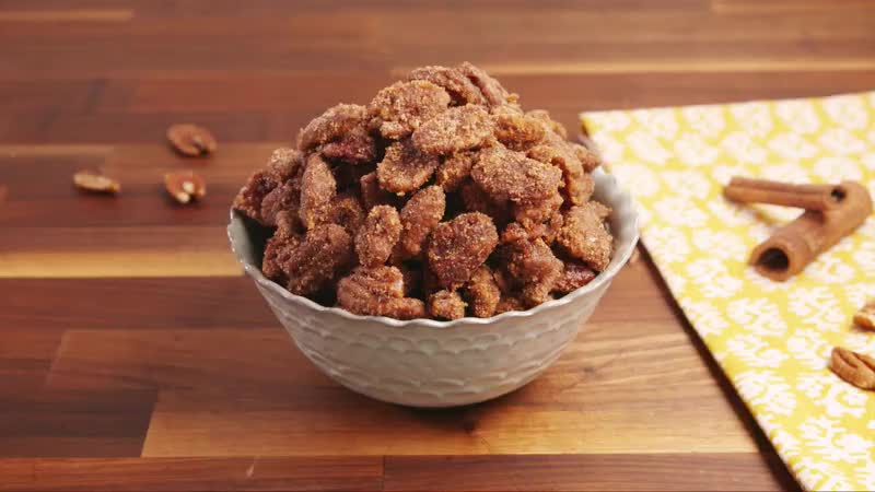 Slow Cooker Candied Pecans GIFs