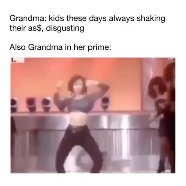 Grandma in her prime