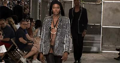Watch and share Naomi Campbell For Riccardo Tisci GIFs on Gfycat