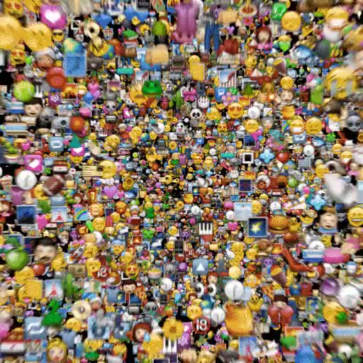 Watch and share Emoji Space (alt) GIFs by bigblueboo on Gfycat
