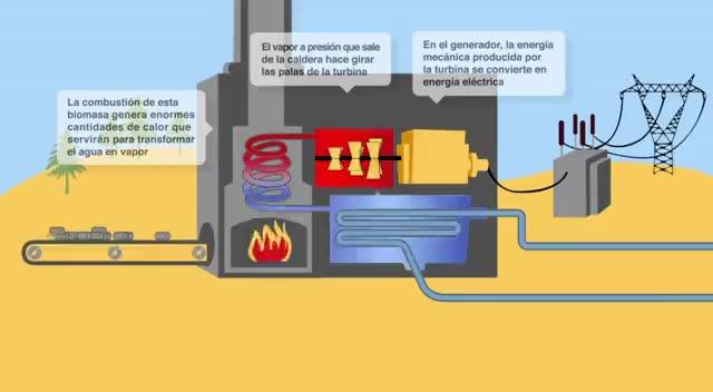 Watch and share Cómo Funciona Una Central Eléctrica De Biomasa GIFs on Gfycat