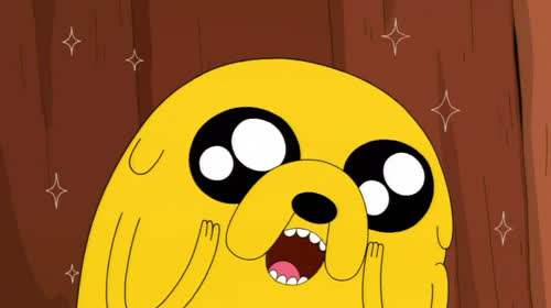 adventure, god, happy, mouth, my, no, oh, omg, open, sparkles, time, unbelievable, way, OMG Adventure Time GIFs