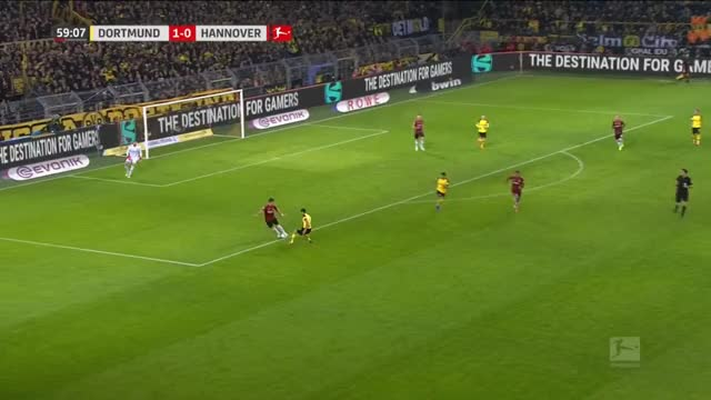 Watch and share Reus Goal BVB [2] - 0 H96 GIFs on Gfycat