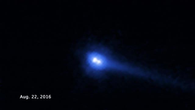 Watch and share Planetoida  2006 VW139 Obserwowana Przez Teleskop Hubble'a GIFs by Rafał on Gfycat