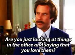 Watch and share Will Ferrell I Love You GIFs on Gfycat