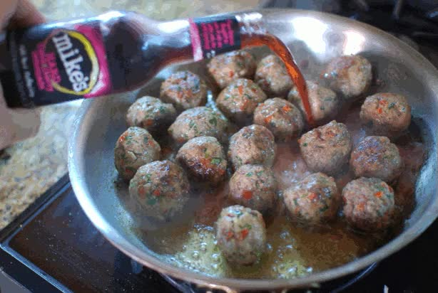 Watch and share The Meatballs Have Some Chile Pepper And Cilantro In Them To Cut Through The Sweet Glaze. GIFs on Gfycat