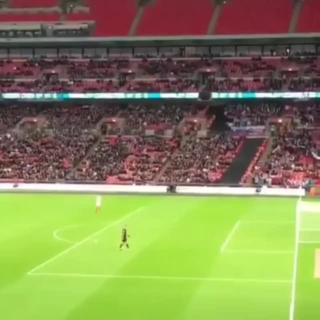 Watch Best goal of the night at Wembley goes to... a paper airplane GIF by Unsurprised (@unsurprised) on Gfycat. Discover more awesome, difficult, football, goal, gol, impressive, neat, nevertellmetheodds, paper airplane, rare, soccer, stadium, trick, wembley GIFs on Gfycat