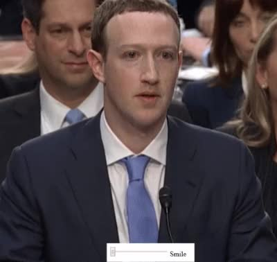 Watch and share Mark Zuckerberg Smile Robot GIFs by MarcusD on Gfycat