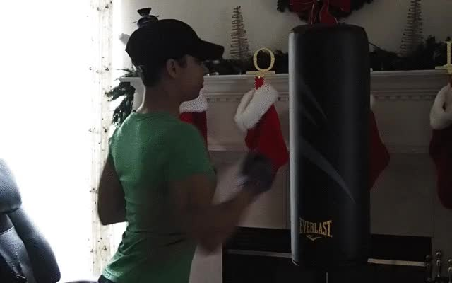 bef079d3117f Watch Using the Everlast Cardio Fitness Training Bag GIF on Gfycat.  Discover more related GIFs