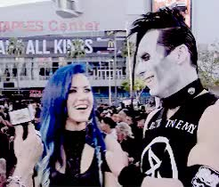 Watch and share Golden Gods Awards GIFs and Alissa White Gluz GIFs on Gfycat